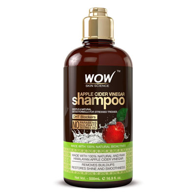 5. BUYWOW Apple Cider Shampoo for Hair Loss, Sulfate-Free for All Hair Types