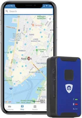 #4. Brickhouse Security Micro GPS Tracker for Monitoring Teen Drivers, Elderly and Assets