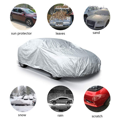 4. Ohuhu Car Covers- Windproof, Dustproof, and Scratch Resistant