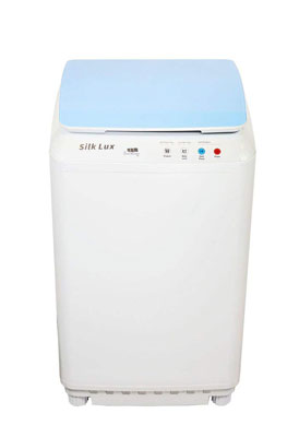 10. The Laundry Alternative Compact Washing Machine (Blue)