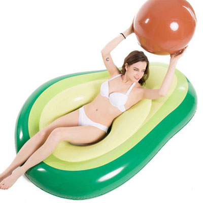 5. Jasonwell Inflatable Pool Float with Ball Water for Adults