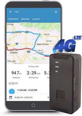 #6. Lumitrac Real-Time GPS Tracker - North America Only