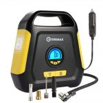 CREMAX Portable Tire Inflator with Digital LCD Display