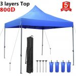 Tentking Canopy Tent - Canopy with Wheeled Carrying Bag
