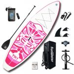 FunWater Inflatable and Ultra-Light Stand up Paddle Board