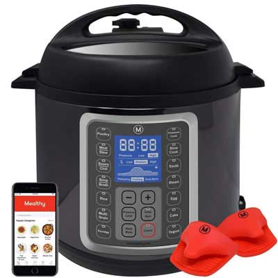 10. Mealthy MultiPot 9-in-1 8 Quart Programmable Pressure Cooker