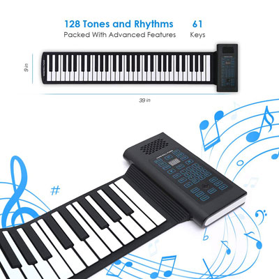 4. Igloo Essentials Portable Keyboard with 61 Keys |Ideal for Beginners