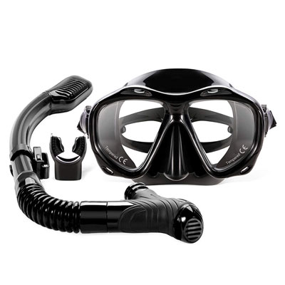 #2. AOMAIS Full Face Snorkel Mask