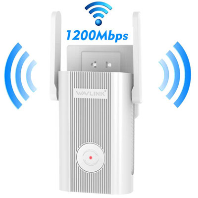 4. WAVLINK AC1200 WiFi Extender for Home Office