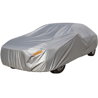 1. Tokept Waterproof Car Covers- Windproof and Dustproof