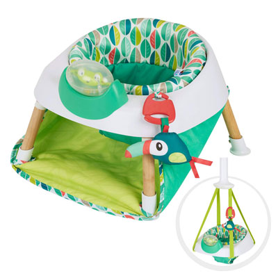 7. Evenflo Exersaucer Baby Seat & Door Jumper