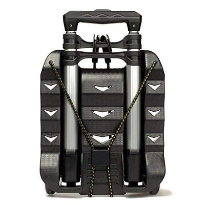 10. RMS Aluminum Hand Truck - Collapsible & Portable (Black)