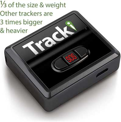 #10. Tracki 2019 Model Real-time GPS Tracker - USA and Worldwide Coverage