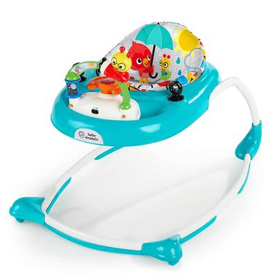 #2. Baby Einstein Walker w/ Wheels and Activity Center