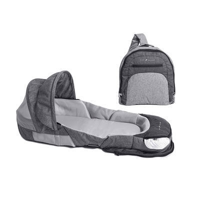 3. Baby Delight Portable Infant Sleeper- Canopy & Bug Net Included
