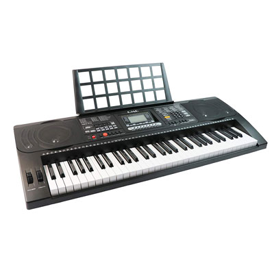 10. QMG 61 Key Electronic Keyboard Piano – Comes with a Dust Cover