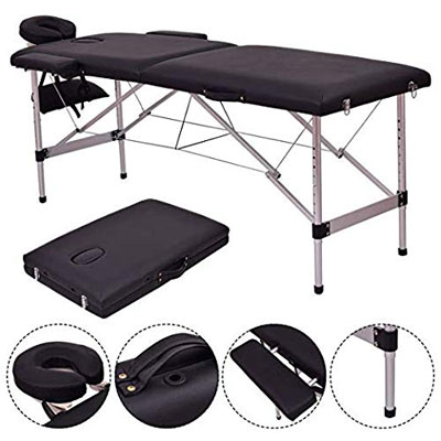 4. Safeplus 84'' Massage Table with a Carry Case