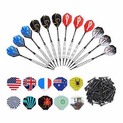 #7. ANSOWNY Darts for Electronic Dartboard