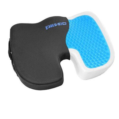 8. Plixio Cooling Gel Seat Cushion for Office Chair for Back, Sciatica, Coccyx Pain Relief