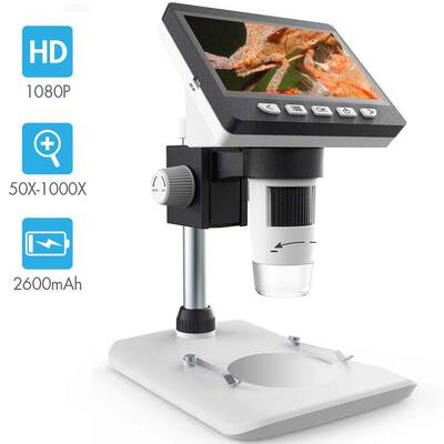 #4. SKYBASIC LCD Digital Biological Microscope