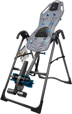 #6. Teeter FitSpine X2 FDA-Registered Inversion Table Extended Ankle Lock Handle Back Pain Relief Kit