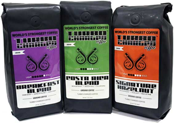 4. InfuSio World's Strongest Coffee - 3 Strong Roasts