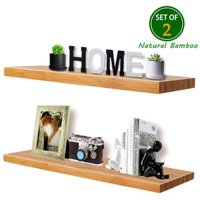 #7. Super Island Wall Shelf Set of 2