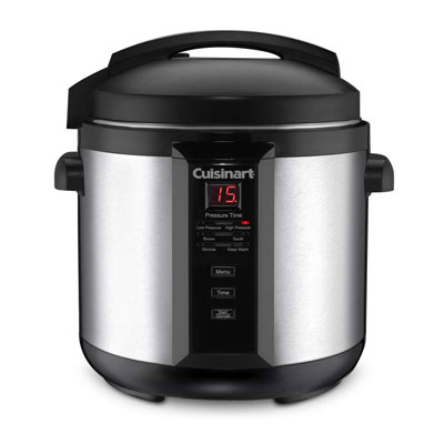 3. Cuisinart 6-Quart CPC-600N1 Electric Pressure Cooker