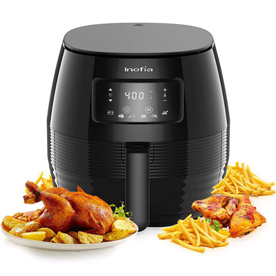 #7. INOFIA Air Fryer Oven