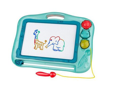 7. Gamenote Sketching Erasable Drawing Board Toy for Kids with Magnet Pen and 3 Stamps