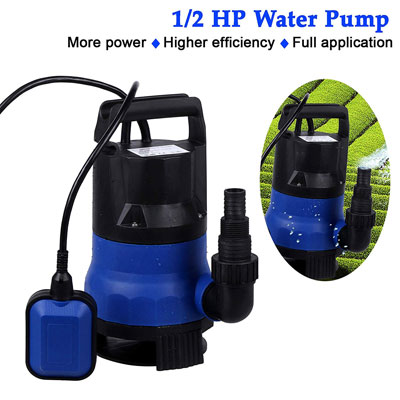 2. Binxin 1/2 HP Portable Water Pump