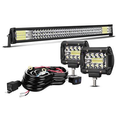 4. TURBO SII 32 Inches LED Light Bar