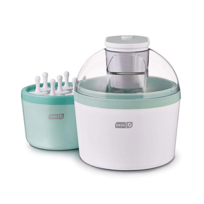 1. DASH DIC700AQ Ice Cream Maker, Aqua