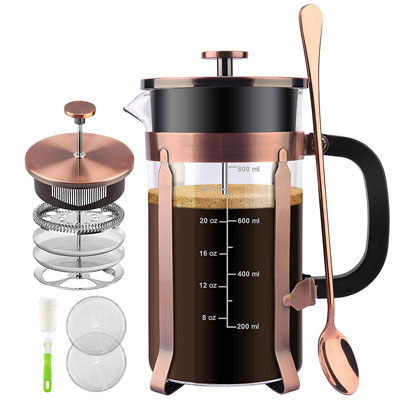 7. STARNUO French Press Coffee Maker, Heat Resistant