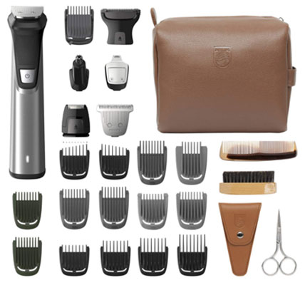 10. Philips Norelco Trimmer for Beard - No Blade Oil Required