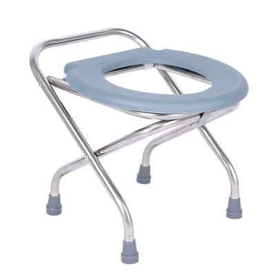 8. Autopeck Commodes Folding Camping Commode Toilet Seat