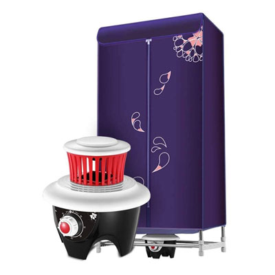 #8. TYUIO Portable 1200W Energy Saving (Anion) Efficient Mode Folding Electric Dryer