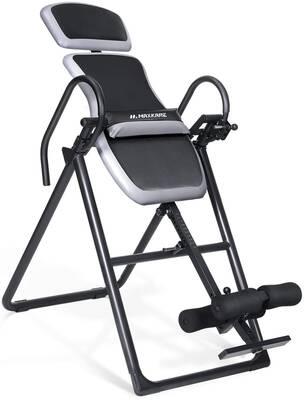 #5. MaxKare Adjustable Headrest & Lumbar Support Inversion Table Equipment for Back Pain Relief