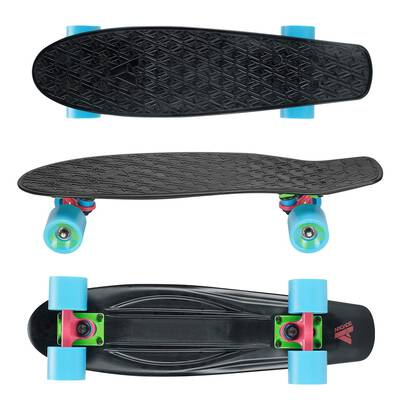 #7. ARCADE Mini-Cruiser 22.5'' Vintage Micro-Board Complete Skateboard for Beginners Boys & Girls