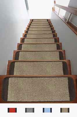 #6. Antep Rugs Safe Non-Slip Area Rug 9x26 inch Stair Tread