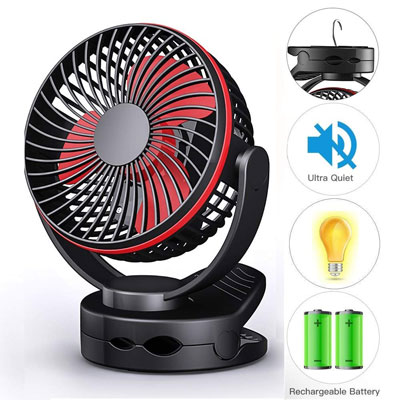 10. COMLIFE Mini Quiet Fan