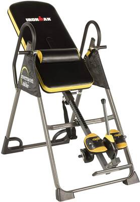 #1. IRONMAN Highest Weight Capacity Inversion Table w/Optional No Pinch AIRSOFT Ankle Holder