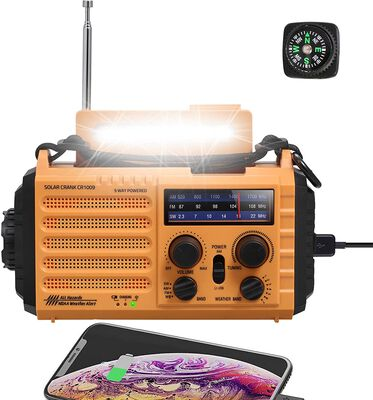 4. Pplee Survival Kit Emergency SOS Alarm and Radio for Earthquake and Flooding