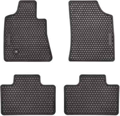 #2. E-Cowlboy Rubber Liner for Tundra Sequoia & Toyota All Season Black Floor Mats
