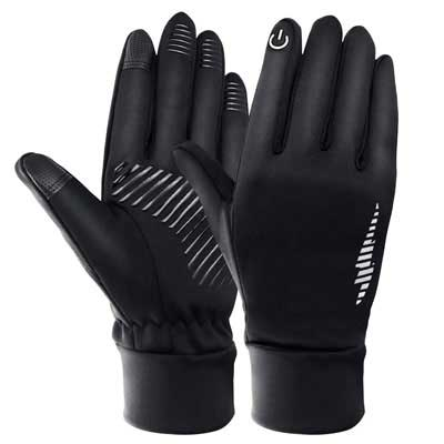 9. DmgicPro Touchscreen Anti-slip Winter Gloves for Running Cycling