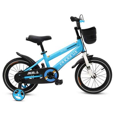 5. PHOENIX KAKU Kid's Bike with Training Wheels, Comes in Several Colors
