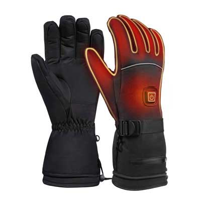 #10. CLISPEED Heated Gloves with Three Levels of Temperature Control