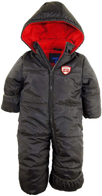 #7. IXtreme One-Piece Winter Baby Boys' Snowsuit with Hood (Newborn and Infant)