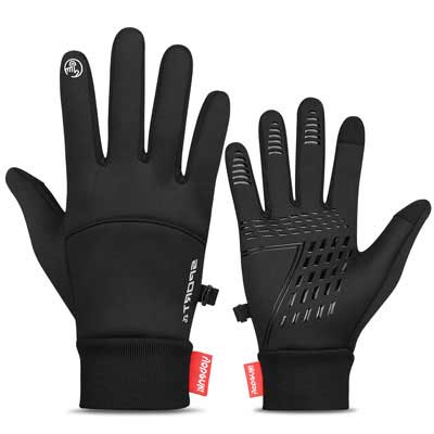 4. TOLEMI Winter Gloves Windproof Men Women Touchscreen Thermal Gloves