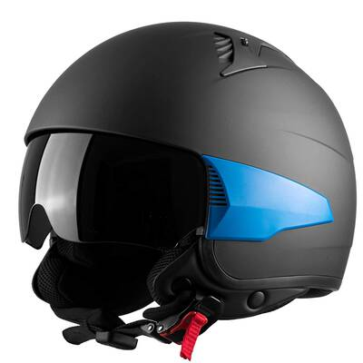 #6. Westt Rover Open Face DOT Approved Motorcycle Helmet